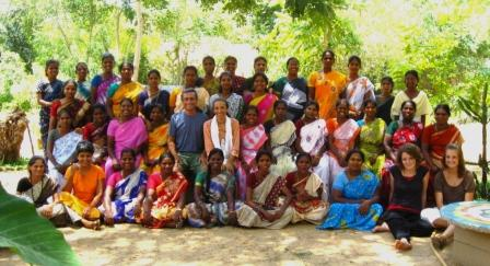 A voluntary project with an NGO, Wellpaper in Aurovile