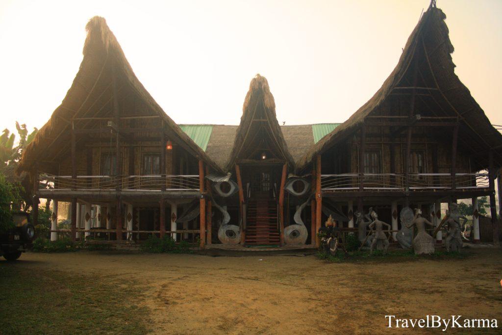resort in Majuli