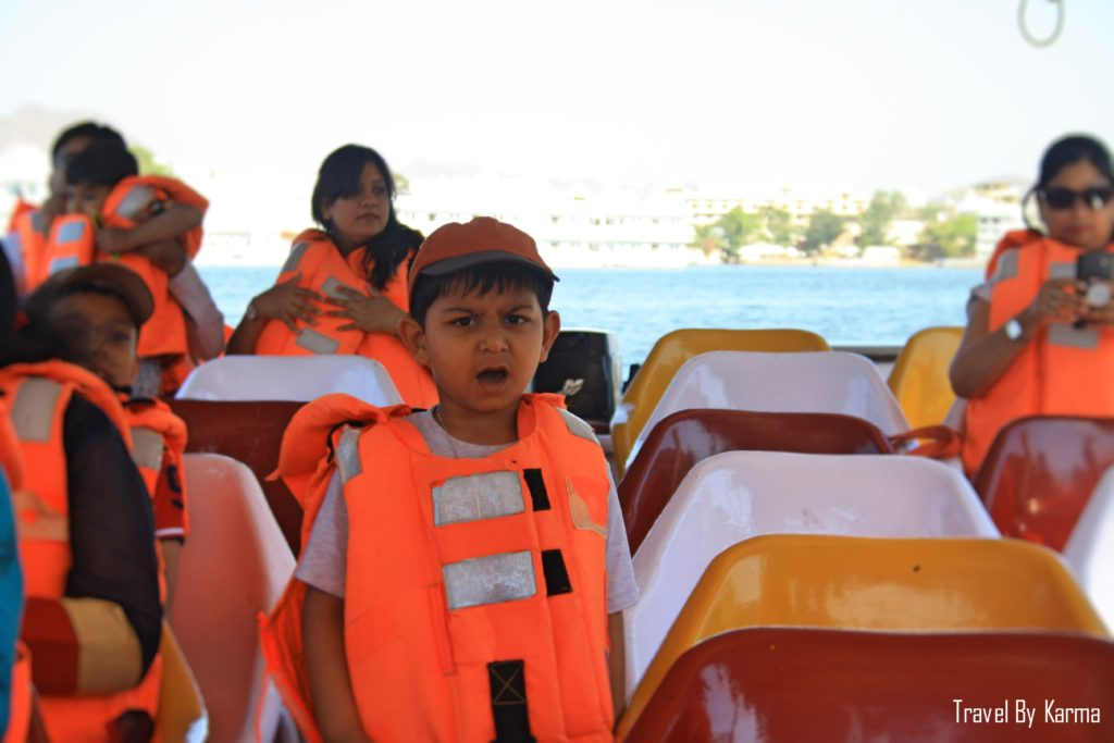 Boat ride at lake pichola udaipur
