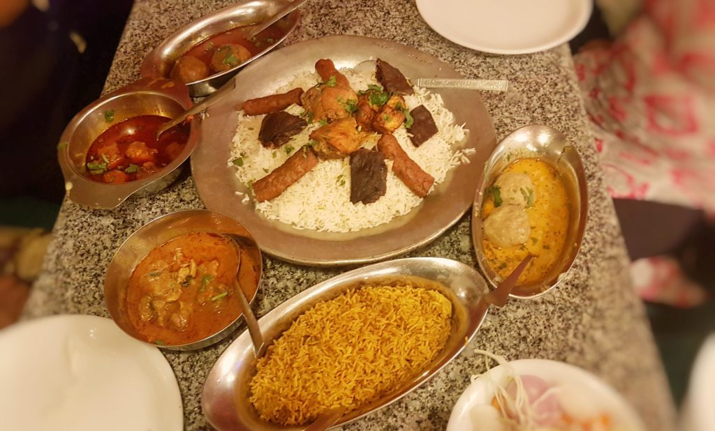 food around Srinagar