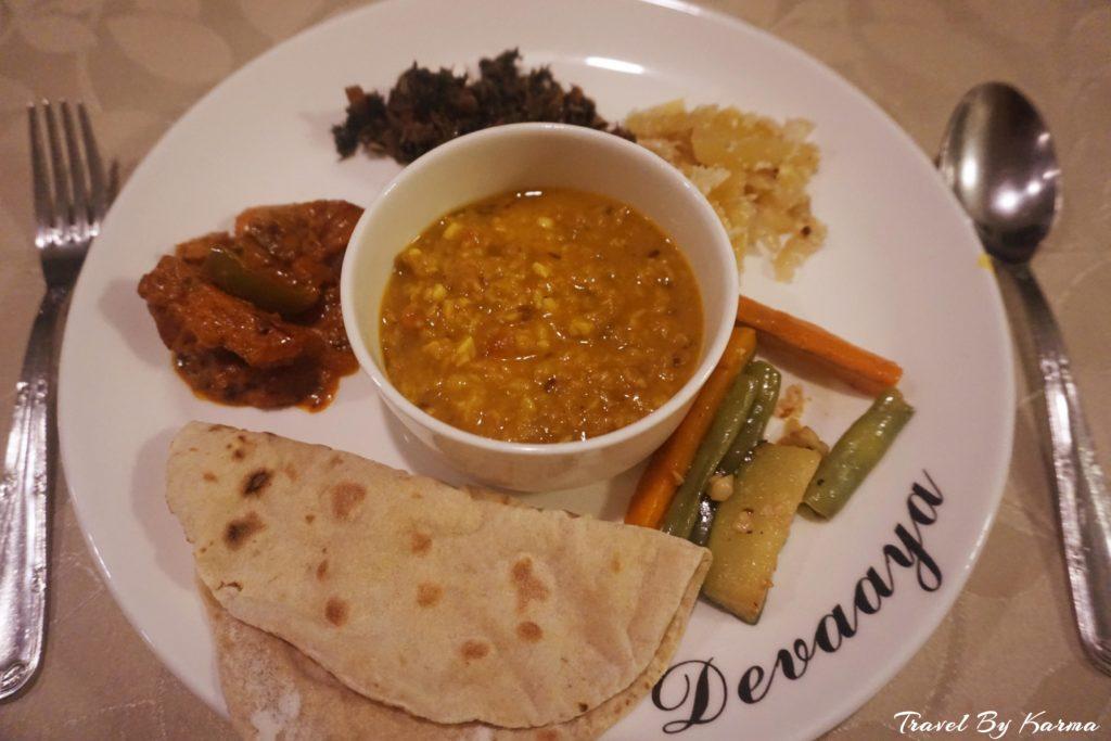 food at wellness resort in goa