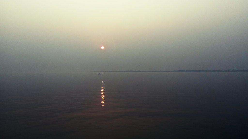 Sunset at Sunderbans