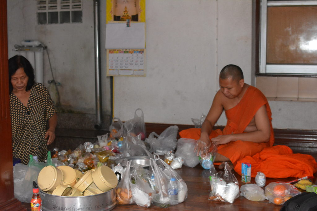 Bangkok monks